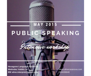 May Public Speaking