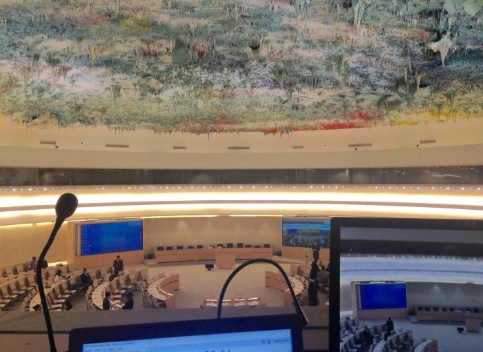 Sala del Consejo de DDHH
